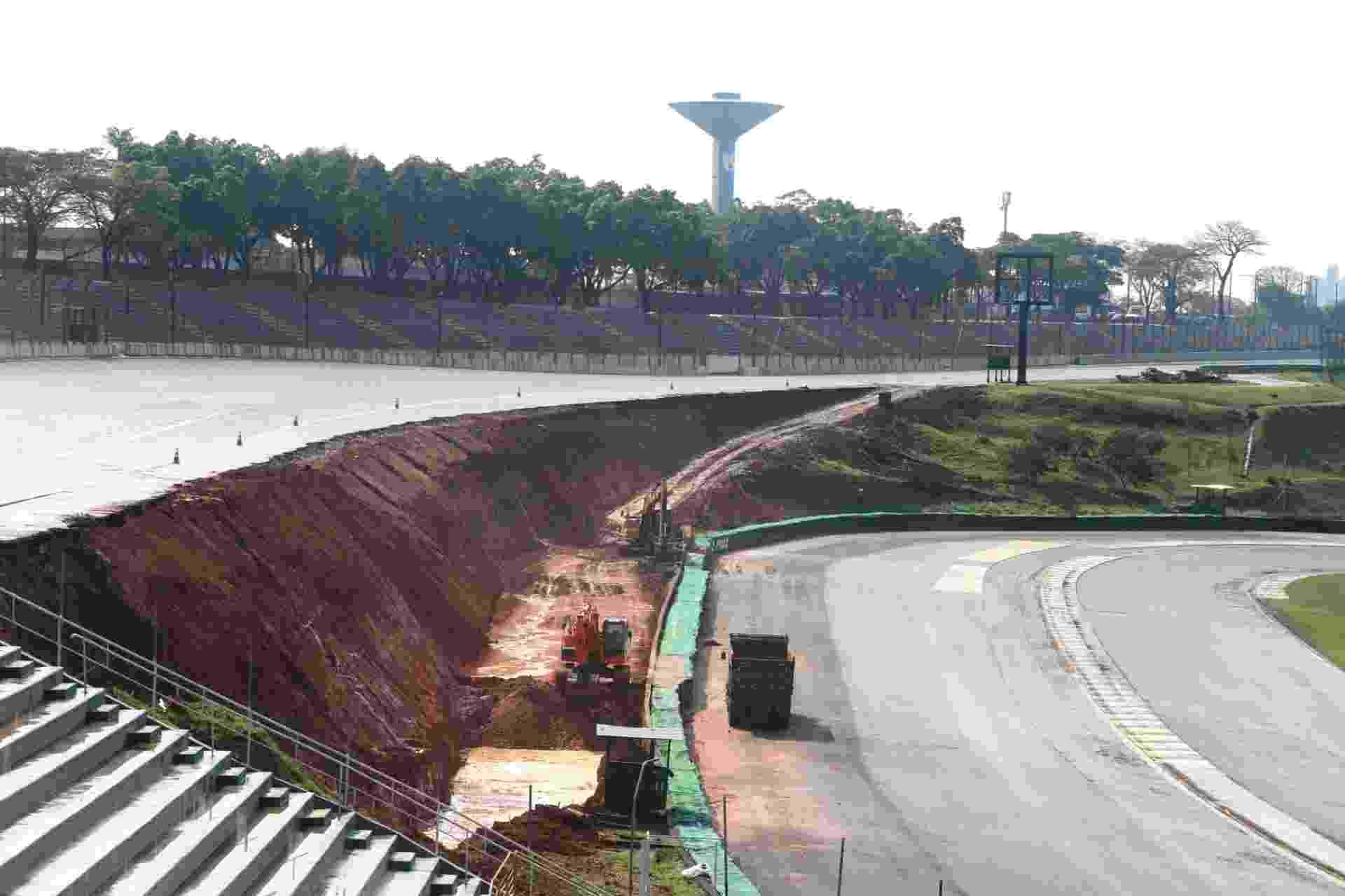 f6da96f132 Fotos  Veja as alterações no autódromo de Interlagos - 16 10 2014 ...