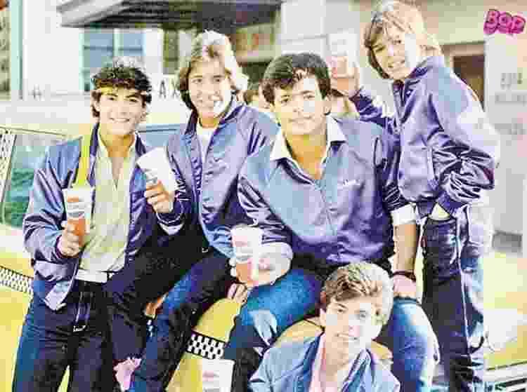 Em 1986, o grupo Menudo fez um show para o Morumbi lotado - Divulgação - Divulgação