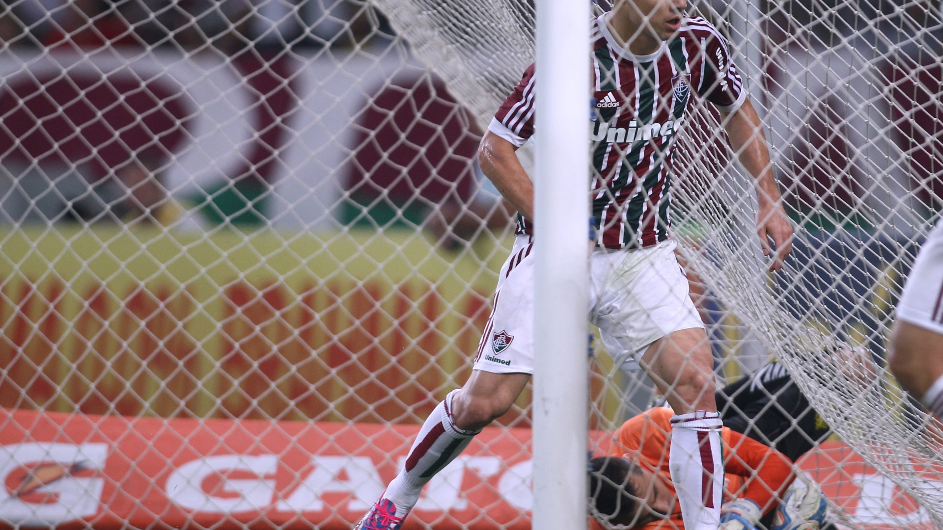 Criciúma abriu o placar, mas Wagner (foto) empatou para o Fluminense
