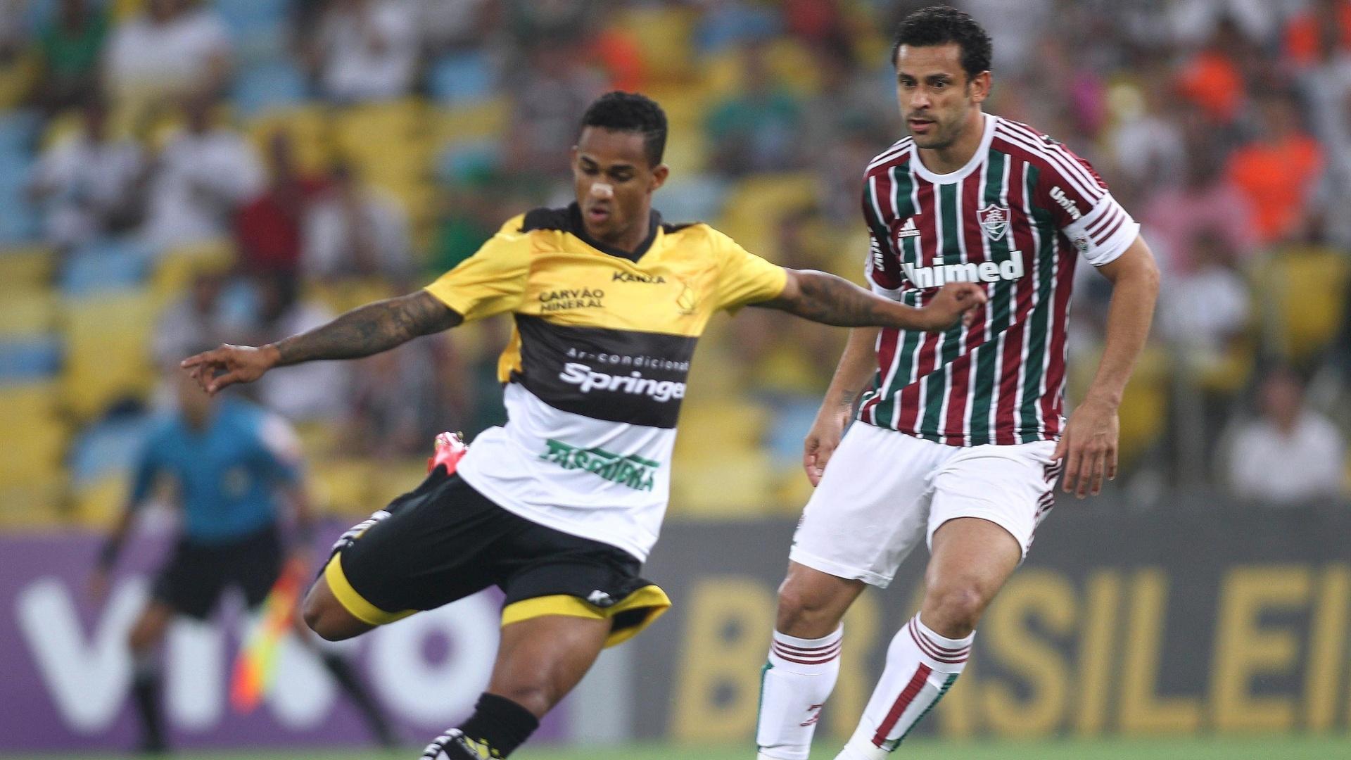 Fluminense e Criciúma se enfrentam no Estádio do Maracanã