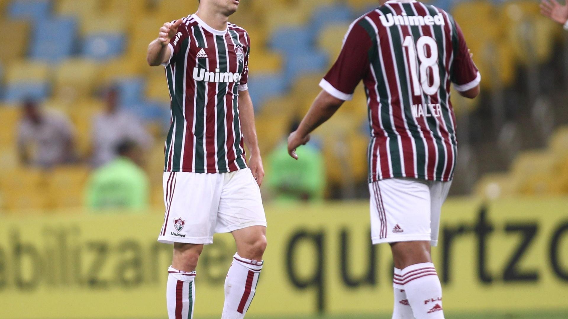 No segundo tempo, Wagner marcou mais um e colocou o Fluminense em vantagem
