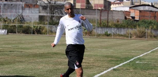 Alberto Acosta, na época em que jogou no Corinthians