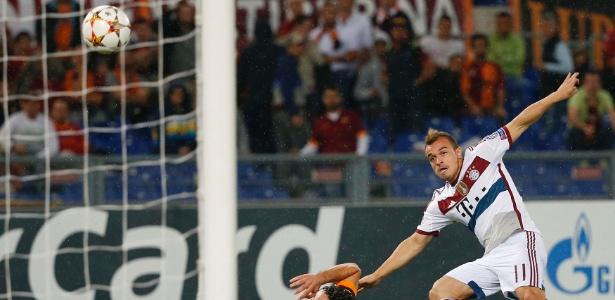 Shaqiri reclamou de não ter tido oportunidades com Guardiola no Bayern