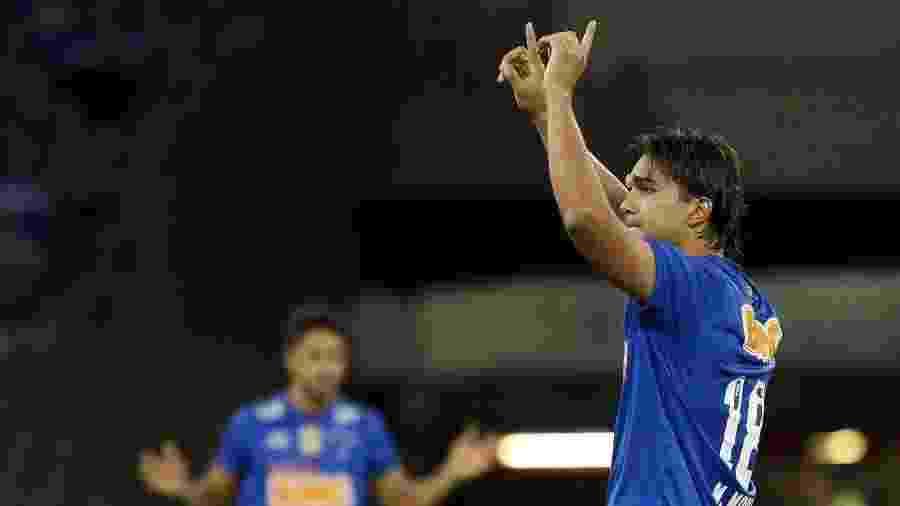 Marcelo Moreno sempre mostrou vontade de voltar a ser jogador do Cruzeiro, e patrocinador deve ajudar - Washington Alves/Getty Images
