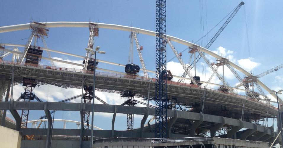 Egenhão ainda passa por obras e deixa Botafogo em dúvida pro prazo de devolução em novembro