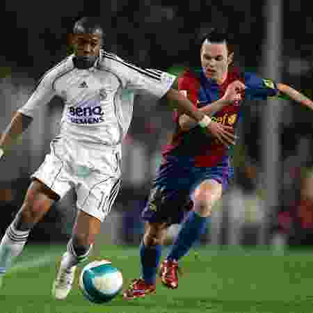 Camisa 2006 do Real Madrid - Getty Images - Getty Images