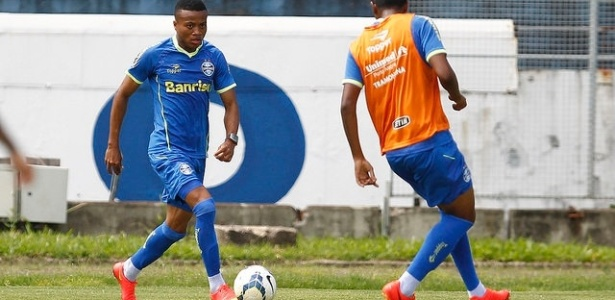 Erik (e) foi lançado no Grêmio por Felipão em 2014, estava no clube desde 2011