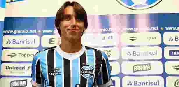 Lucas Uebel Divulgação Grêmio 6b346f42aef45
