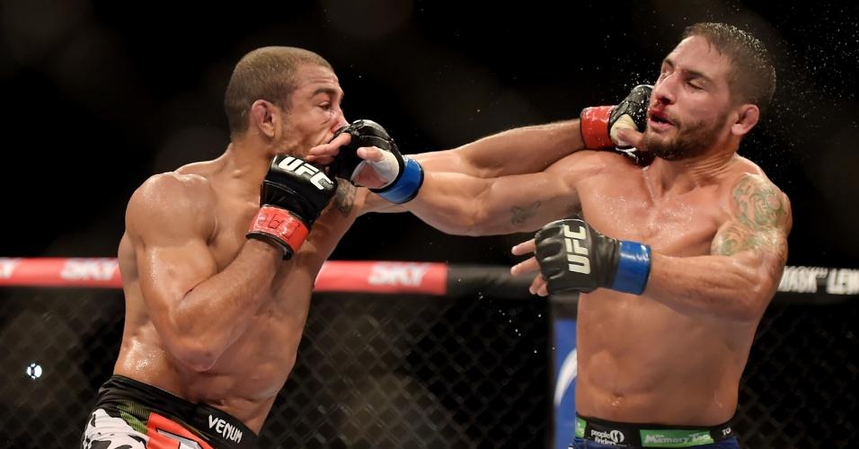 José Aldo castiga Chad Mendes na luta principal do UFC Rio 5