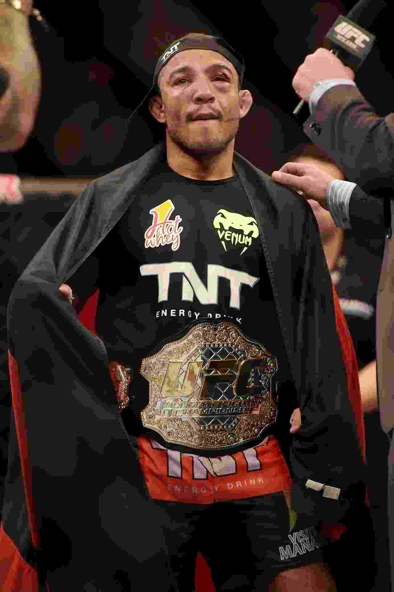 José Aldo manteve o cinturão dos peso-pena e segue como único brasileiro campeão do UFC - Alexandre Loureiro/inovafoto