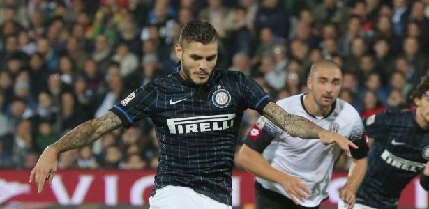 Icardi defendeu a Inter de Milão na atual temporada