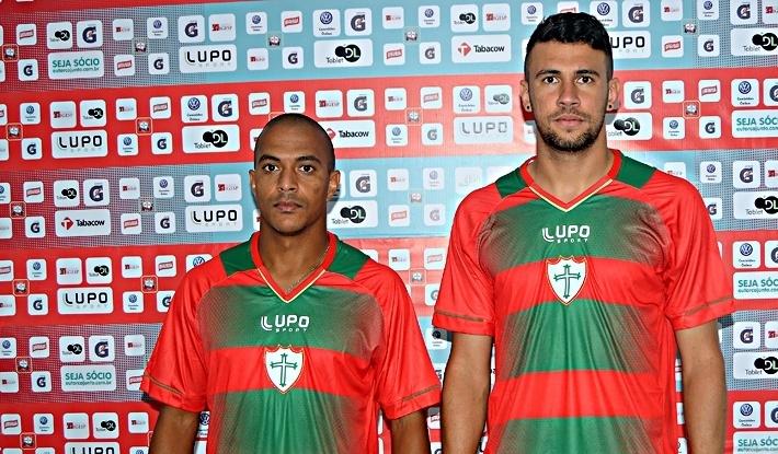 Serginho (à esquerda) foi suspenso preventivamente por uso de substância anti-inflamatória, mas proibida