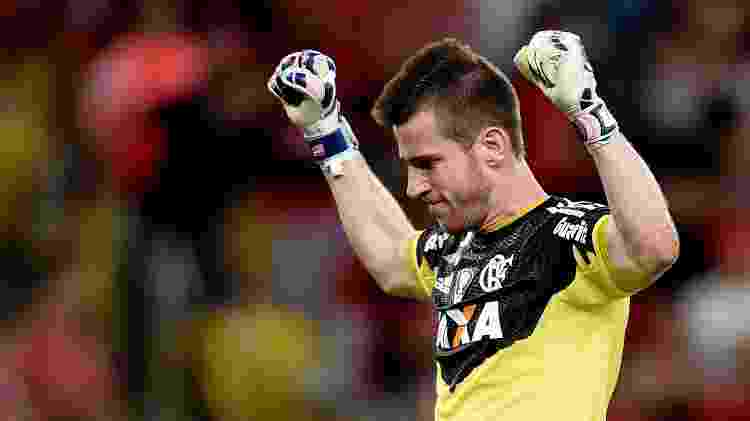 Paulo Victor durante sua passagem no Flamengo - Buda Mendes/Getty Images