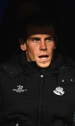Bale é reserva do Real Madrid pela Liga dos Campeões