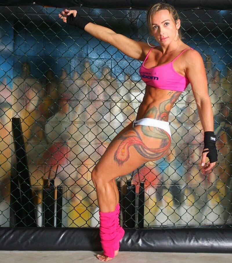 Geisa Vitorino, ring girl do Jungle Fight 74