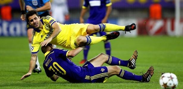 Fàbregas tem sido pouco utilizado no Chelsea nesta temporada