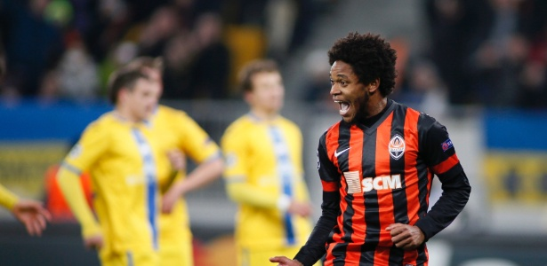 Shakhtar Donetsk, de Luiz Adriano, vai enfrentar cinco times brasileiros em janeiro