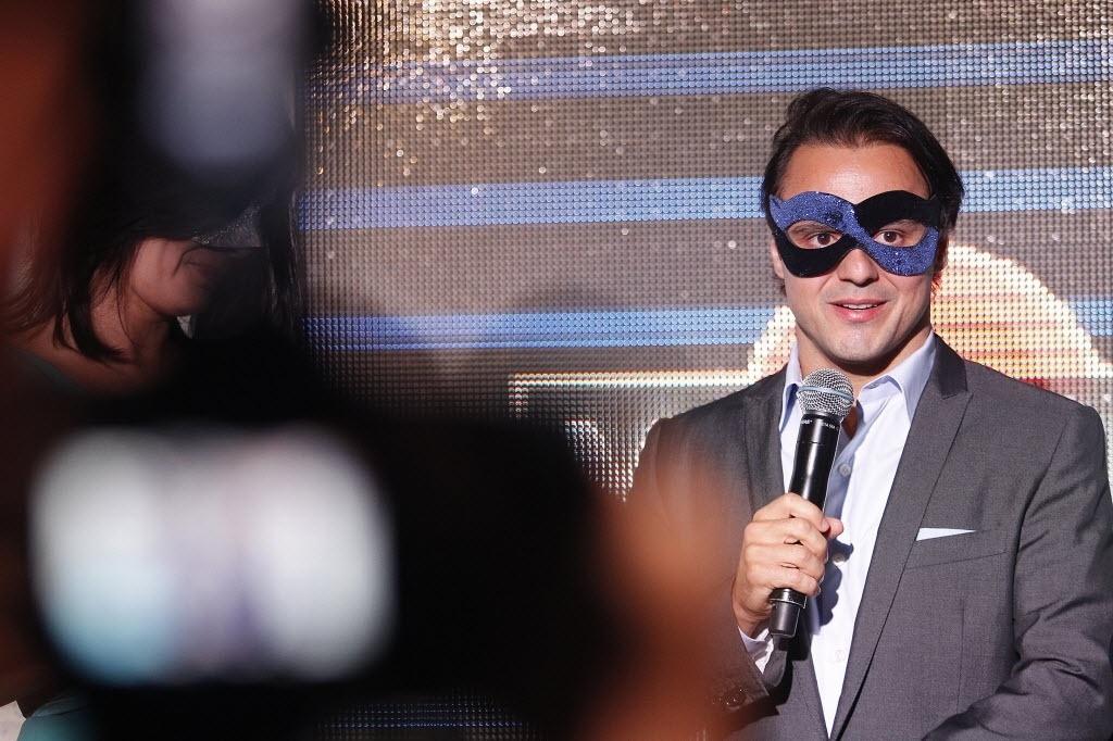Felipe Massa discursa em festa da principal patrocinadora da Williams