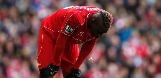 Balotelli não conseguiu se firmar no Liverpool