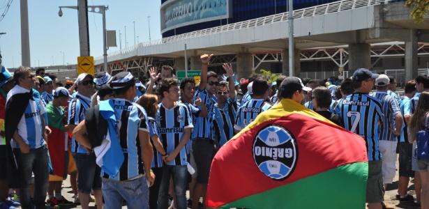 Torcedores do Grêmio prometem lotar a Arena no duelo com o Corinthians