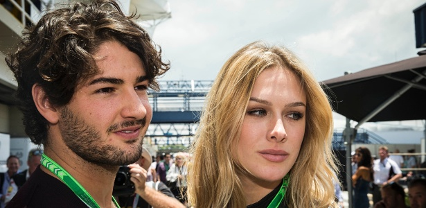 Alexandre Pato e a namorada Fiorella Matheis