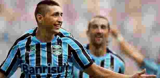 Alan Ruiz - Jefferson Bernardes/Divulgação/Grêmio - Jefferson Bernardes/Divulgação/Grêmio