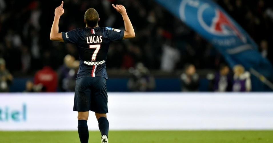 Lucas vive seu melhor momento desde que chegou ao PSG no começo de 2013