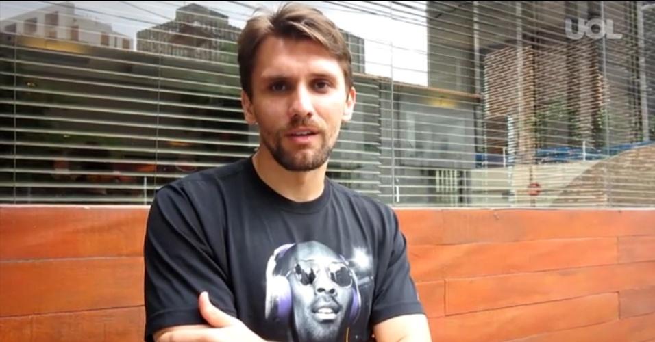 Paulo André, ex-zagueiro do Corinthians, em entrevista exclusiva ao UOL Esporte