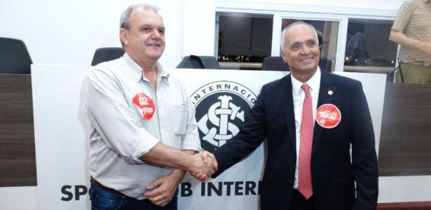 Vitorio Piffero (esq) viu dois movimentos saírem da gestão antes da eleição. Medeiros (d) é favorito