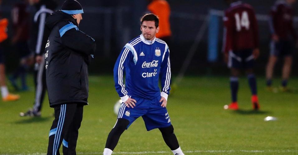 791bde2bf207c Messi vai mudar de posição na seleção argentina. Será o