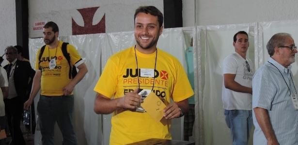 Julio Brant vem pagando mensalidade em juízo por considerar ida ao Vasco perigosa