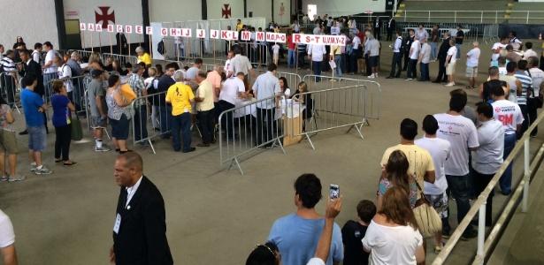 Eleição no Vasco acontecerá em São Januário nesta terça-feira (7)