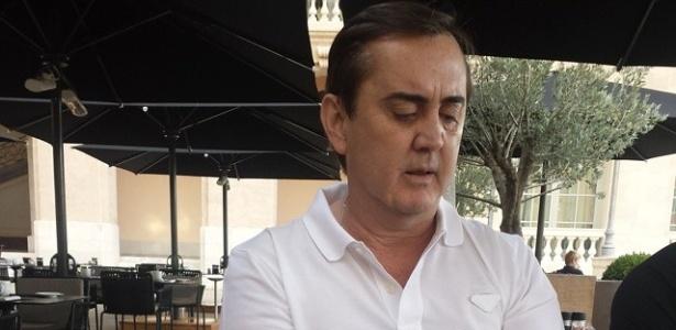 Garcia (foto) tem domínio no Corinthians e moveu processo contra o Palmeiras