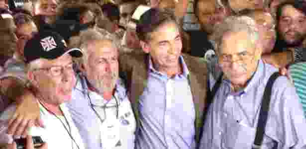 Fernando Horta (esq), José Luiz Moreira (centro) e Luis Fernandes (dir) - Bruno Braz / UOL Esporte - Bruno Braz / UOL Esporte