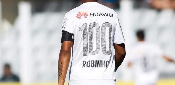 Robinho pode abandonar a camisa 7 caso seja contratado novamente pelo Santos