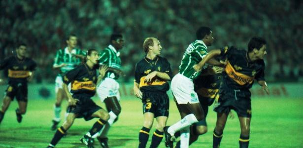 Palmeiras vence o Boca Juniors por 6 a 1 pela Libertadores de 1994