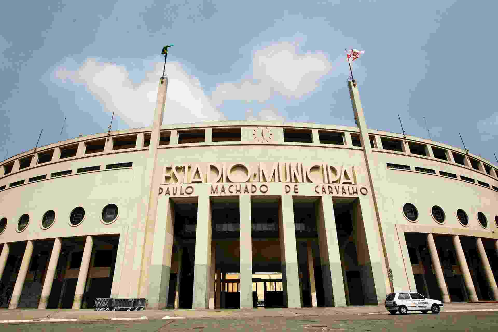 Palmeiras inaugurou o Estádio do Pacaembu com uma vitória em cima do Coritiba, em 1940. - Reinaldo Canato/UOL