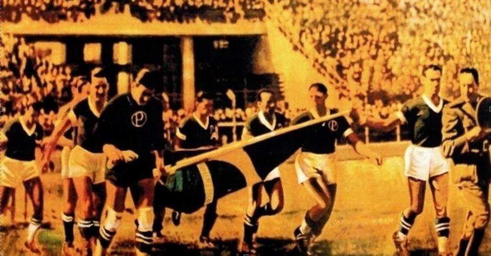 Palmeiras joga pela primeira vez com seu novo nome, na Arrancada Heróica, em 1942