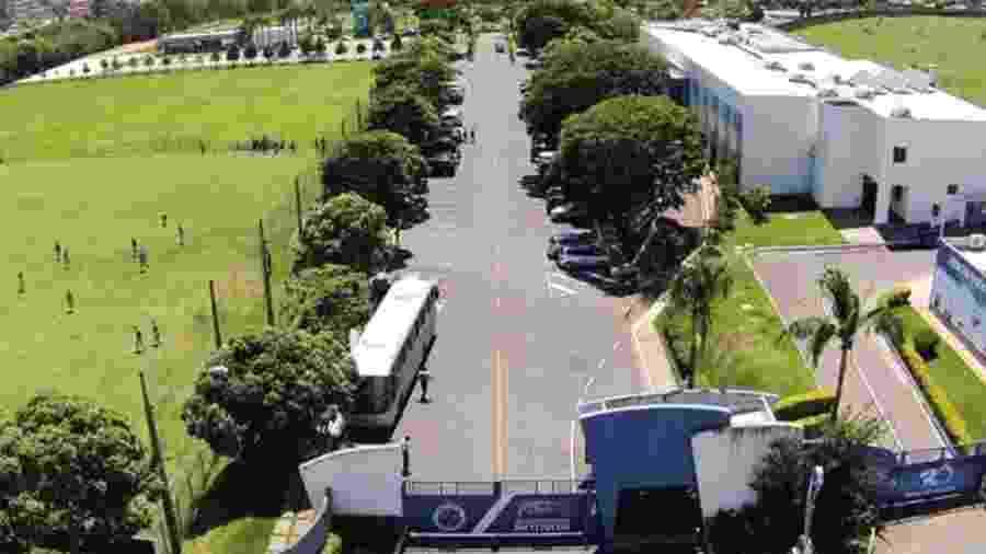Sem treinos e jogos, Cruzeiro concedeu férias aos funcionários do administrativo, jogadores e comissão técnica - Somma Drones/Divulgação