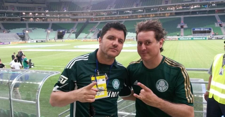 Mauricio Manieri e Marcos Kleine (Ultraje a Rigor) também vão participar da festa de inauguração do estádio