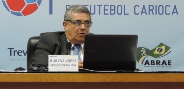 Rubens Lopes (foto), da Ferj, cobrou um posicionamento da CBF contra a Liga - Pedro Ivo Almeida/UOL