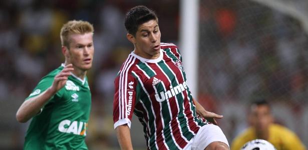 Última passagem de argentino Conca pelo Fluminense foi em 2014