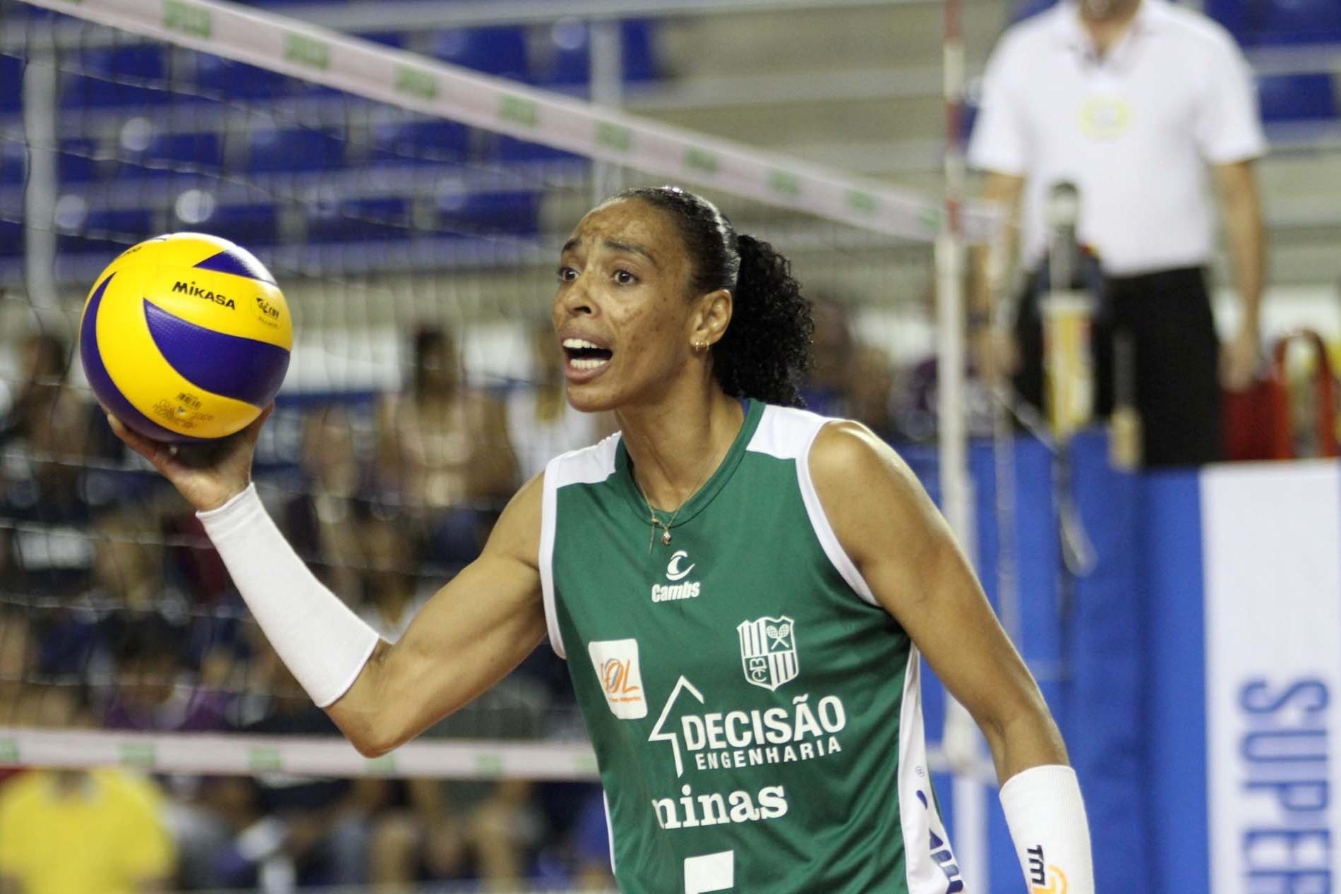 Na última temporada, Arlene defendeu o Minas Tênis Clube