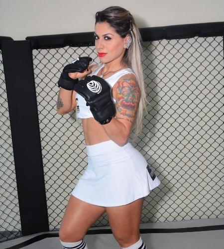 Vanessa Mesquita, ex-BBB, será ring girl do Jungle Fight 74