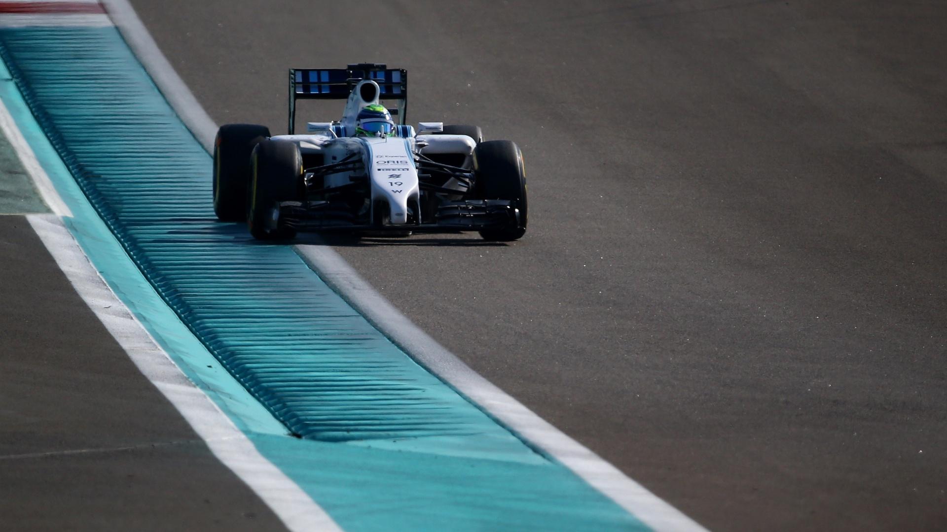 Felipe Massa participa do treino livre em Abu Dhabi