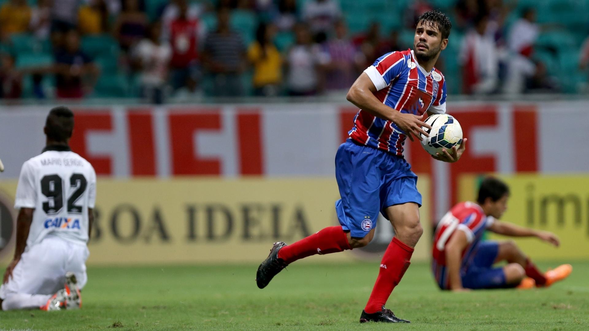 Henrique fez o primeiro gol do Bahia na partida