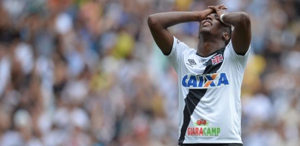 Thalles perdeu espaço no Vasco por conta de problemas extracampo e de peso - Fernando Soutello/AGIF