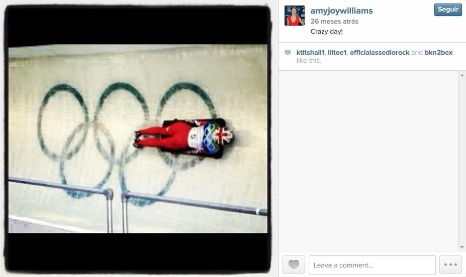 Amy Williams, campeã olímpica de skeleton