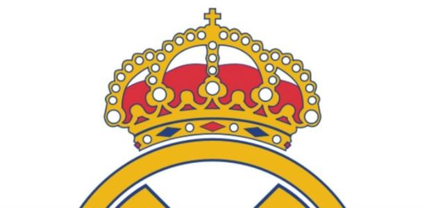 Clube retirou a cruz que ficava no topo da coroa no escudo do Real Madrid - Divulgação