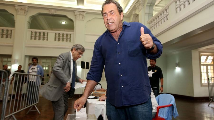 Ex-presidente do Botafogo Carlos Augusto Montenegro assumiu liderança de grupo de transição - Satiro Sodré/SS Press
